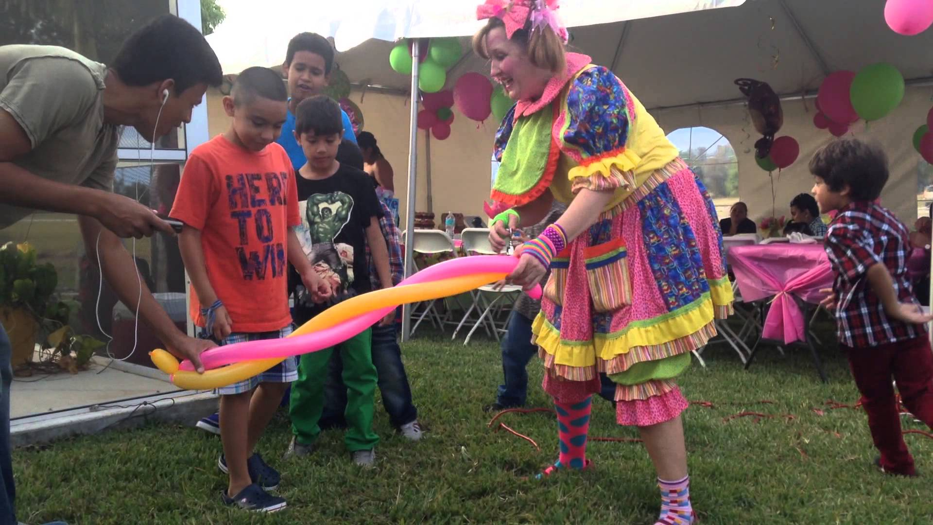 Fort Myers Kids Party Entertainment Clowns Magicians Characters